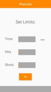 App SetLimits